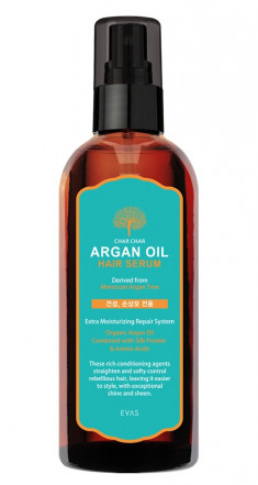 EVAS Сыворотка аргановая для волос / Char Char Argan Oil Hair Serum 200 мл