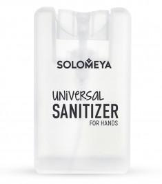 SOLOMEYA Средство антибактериальное универсальное для рук, чайное дерево / Universal Sanitizer Spray for hands Tea tree 20 мл