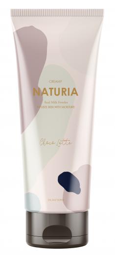 EVAS Скраб для тела Шоколад / NATURIA CREAMY OIL SALT SCRUB Choco Latte 250 г