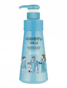 Гель для душа с солью мертвого моря Mukunghwa Jeju Dead Sea Mineral Salts Shower Body Soap 500мл