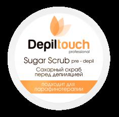 DEPILTOUCH PROFESSIONAL Скраб сахарный с натуральным медом перед депиляцией / Depiltouch professional 250 мл