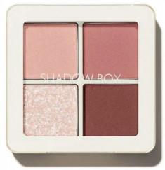 Тени 4-хцветные THE SAEM Saemmul Shadow Box 01 Rosy Ending 3,6г