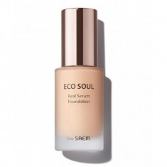 тональная основа the saem eco soul real serum foundation
