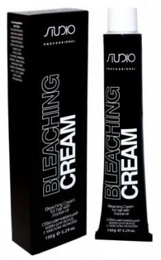 STUDIO PROFESSIONAL Крем обесцвечивающий с маслом жожоба для волос 150 г