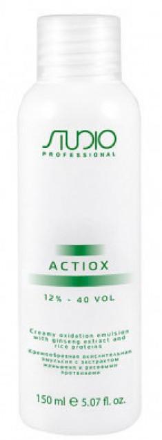 STUDIO PROFESSIONAL Эмульсия окислительная кремообразная с экстрактом женьшеня и рисовыми протеинами 12% / ActiOx 150 мл