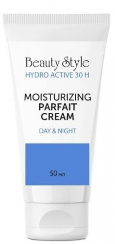 BEAUTY STYLE Крем-парфе увлажняющий с фосфолипидами SPF 15 / Hyaluron-Hydro active 50 мл