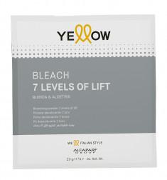 YELLOW Порошок для обесцвечивания волос до 7 уровней / YE Bleach 20 г