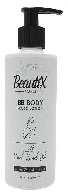 BEAUTIX Лосьон ВВ с персиковым маслом для тела 250 мл