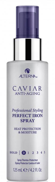 ALTERNA Спрей с антивозрастным уходом для волос Абсолютная термозащита / Caviar Anti-Aging Professional Styling Perfect Iron Spray 125 мл