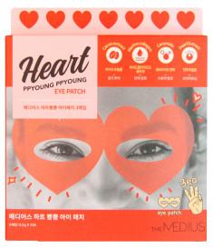 MEDIUS Патчи для глаз (маска на глаза в виде сердечек) / Heart Ppyoung Ppyoung Eye Patch 10 шт