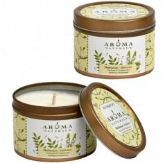 Aroma Naturals Свеча Медитация 80 г банка