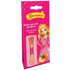 Принцесса Блеск для губ Персиковый зефир двойной 10мл ПРИНЦЕССА