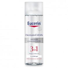 Eucerin Dermatoclean Лосьон мицеллярный освежающий и очищающий 3в1 200мл