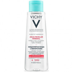 Vichy Мицеллярная вода с минералами для чувствительной кожи 200мл