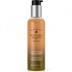 Vegetable Beauty сатиновое масло для душа с органическим экстрактом сицилийского апельсина и комплексом драгоценных масел 200мл