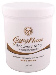 GANGNAM Крем массажный аппаратный радиочастотный/радиоволновой / Recovery Q-10 Massage cream RF 800 мл