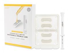 SNOW2+ Патчи с микроиглами 4 шт + серум 1 мл Разглаживающий и отбеливающий уход / Magnesium Micro Intensive Multi Care for Wrinkle and Whitening