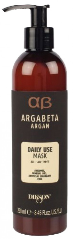 DIKSON Маска с аргановым маслом для ежедневного использования / ARGABETA Mask DAILY USE 250 мл