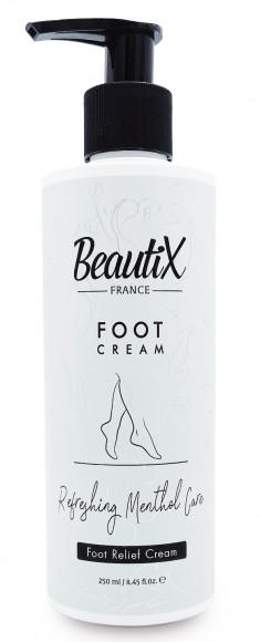 BEAUTIX Крем для ног с ментолом 250 мл