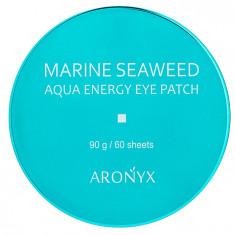 MEDI FLOWER Патчи гидрогелевые с экстрактом морских водорослей для глаз / Aronyx 60 шт