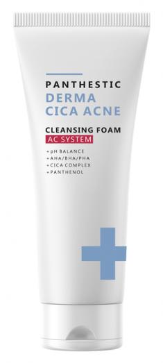 EVAS Пенка для умывания для лица / Panthestiс Derma Cica Acne Cleansing Foam 140 мл