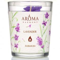 Aroma Harmony Свеча ароматическая Лаванда 160гр