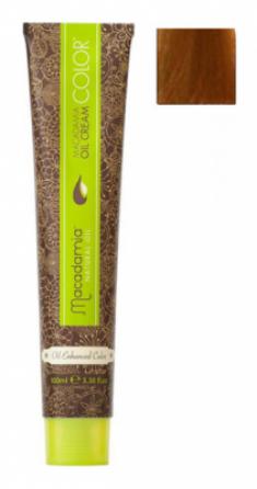 Краска для волос Macadamia Oil Cream Color 8.34 СВЕТЛЫЙ МЕДНО ЗОЛОТИСТЫЙ БЛОНДИН 100мл