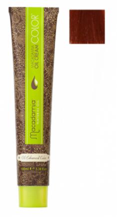 Краска для волос Macadamia Oil Cream Color 7.664 ЯРКИЙ КРАСНО МЕДНЫЙ СРЕДНИЙ БЛОНДИН 100мл