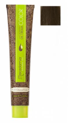Краска для волос Macadamia Oil Cream Color 6/2 ТЕМНЫЙ ЗЕЛЕНО МАТОВЫЙ БЛОНДИН 100мл