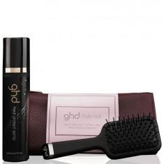 GHD Набор Эксклюзивная щетка ghd термозащитный спрей для волос ghd роскошная косметичка Королевская династия