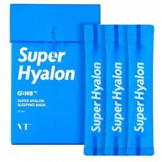ночная маска для глубокого увлажнения vt cosmetics super hyalon sleeping mask
