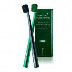 Swiss Smile Набор мягких зубных щёток Herbal Bliss