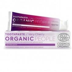 Organic people Зубная паста very cherry органическая сертифицированная 85г
