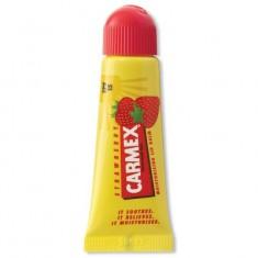 Бальзам для губ Carmex с ароматом клубники с SPF15 10г