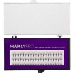 Ресницы пучковые Manly Pro шелк 10 мм РП04