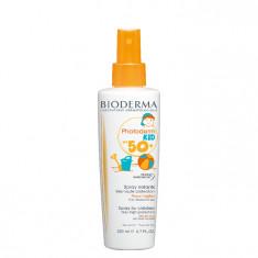 BIODERMA Спрей для тела с высокой защитой фотодерм кид / Photoderm Kid SPF50+, Spray 200 мл