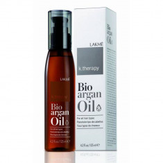 LAKME K.Therapy Bioagran Oil  Аргановое масло для увлажнения и ухода за волосами 125 мл