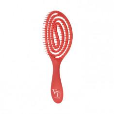 VON-U Расческа для волос, красная / Spin Brush Red