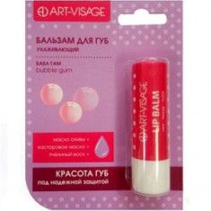 Бальзам для губ в блистере Bubble Gum ART-VISAGE