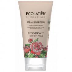 Ecolatier GREEN Дезодорант Нежный уход Дикая роза 40мл