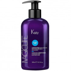 Kezy Enrgizing conditioner for blond and bleached hair Кондиционер укрепляющий для светлых и обесцвеченных волос 300мл