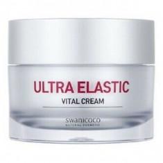 омолаживающий крем с пептидным комплексом swanicoco peptine biome ultra elastic vital cream