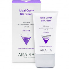 Aravia Professional BB-крем увлажняющий SPF-15 Ideal Cover BB-Cream Sand 02 50мл