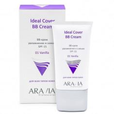 Aravia Professional BB-крем увлажняющий SPF-15 Ideal Cover BB-Cream Vanilla 01 50мл