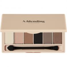 Тени для век ESTHETIC HOUSE A.blending Pro Eyeshadow Palette Nude Beach 2г*6шт