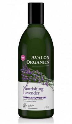 Avalon Organics Гель для ванны и душа с маслом лаванды 355мл
