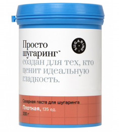 Gloria Просто Шугаринг Сахарная паста для депиляции плотная 0.33 кг