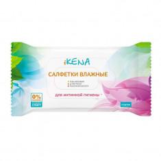iKENA салфетки влажные для интимной гигиены с молочной кислотой N15