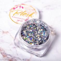Blesk, Дизайн для ногтей «Алмазная россыпь» №02
